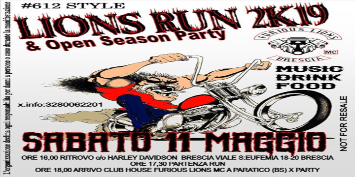 Lions Run 2K19
