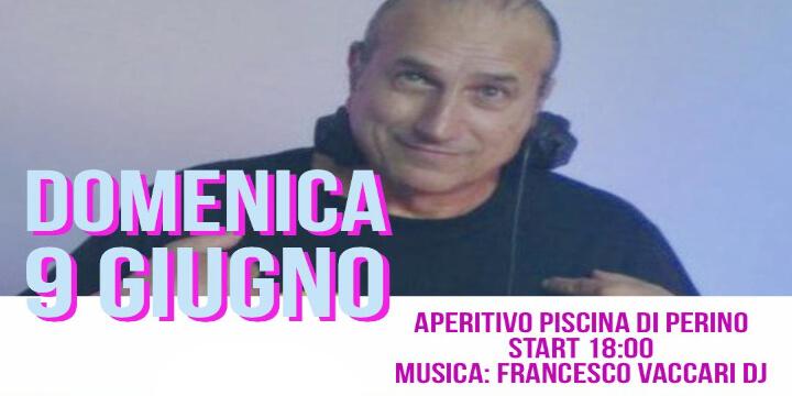 Aperitivo in Piscina w/ Francesco Vaccari Dj