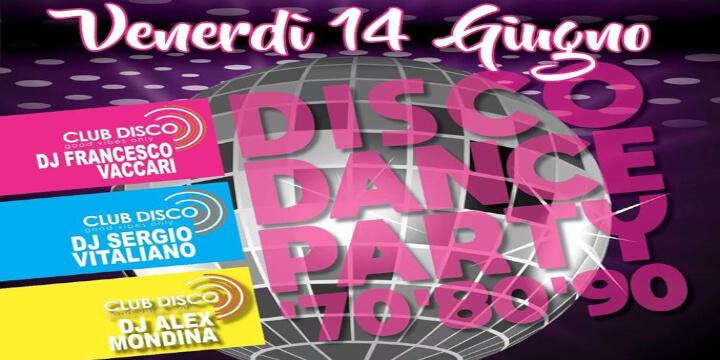 Disco Dance Party '70 '80 '90