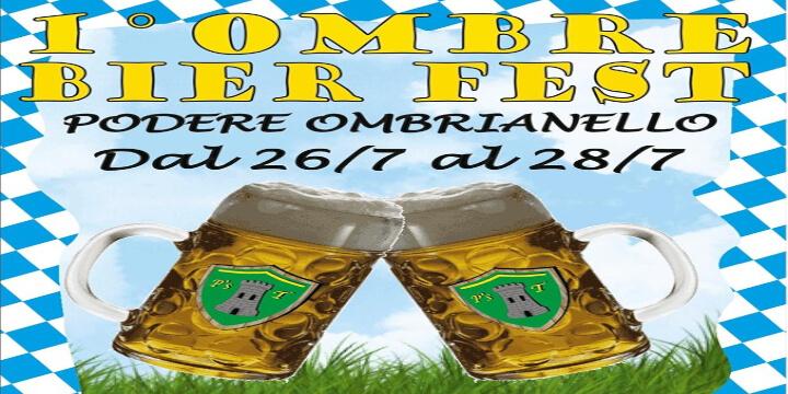 Ombre Bier Fest 2019 Eventi, serate..robe
