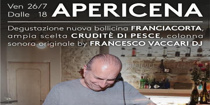 Apericena Simo's Palate w/ Francesco Vaccari Dj