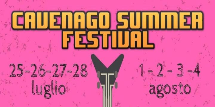 Cavenago Summer Festival 2019 Eventi, serate..robe