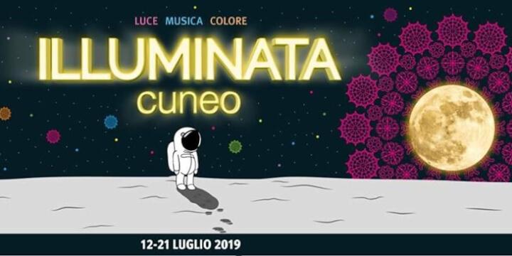 Cuneo Illuminata 2019 Eventi, serate..robe