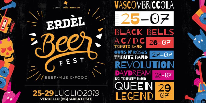 ERDEL BEER FEST 2019 Eventi, serate..robe
