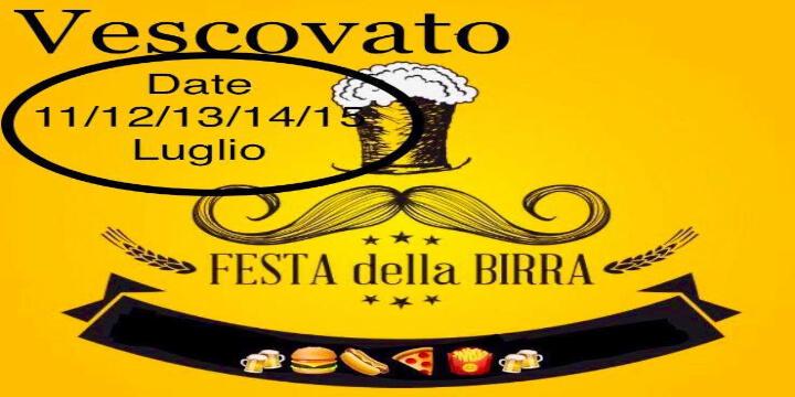 Festa della Birra di Vescovato Eventi, serate..robe