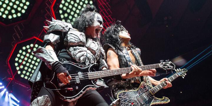 Kiss at Milano Summer Festival 2019