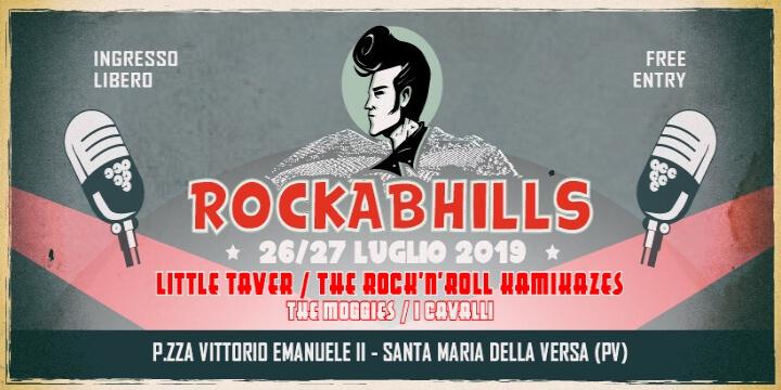 Rockabhills Music Fest Eventi, serate..robe