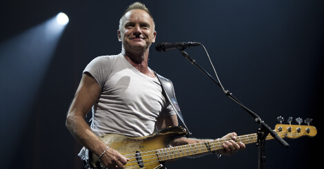 Sting: My Songs tour in Italia