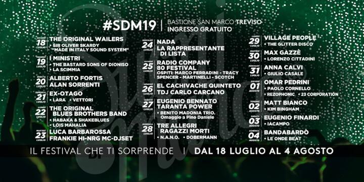 Suoni di Marca Festival 2019