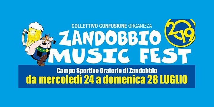 Zandobbio MusicFest 2019 Eventi, serate..robe