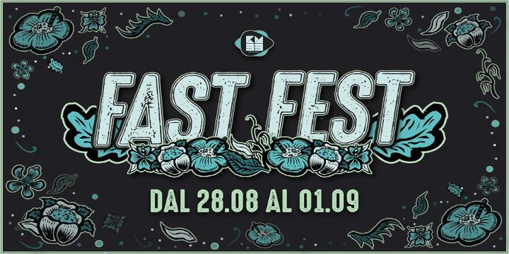 Fast Fest 2019 Eventi, serate..robe