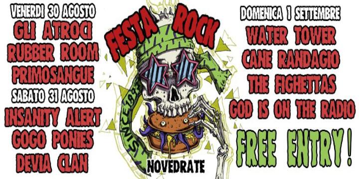 Festa Rock Novedrate 2019 Eventi, serate..robe