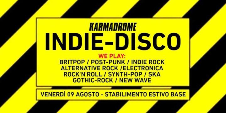 Karmadrome indie-night: Indie-Disco Summer Party #02