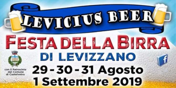 Levicius Beer 2019 Eventi, serate..robe