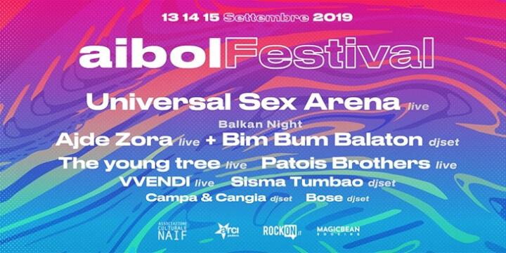 Aibol Festival 2019 Eventi, serate..robe