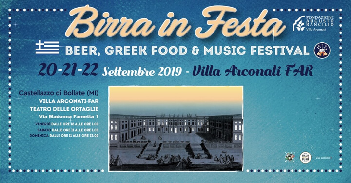 Birra in Festa & Greek Food Fest 2019