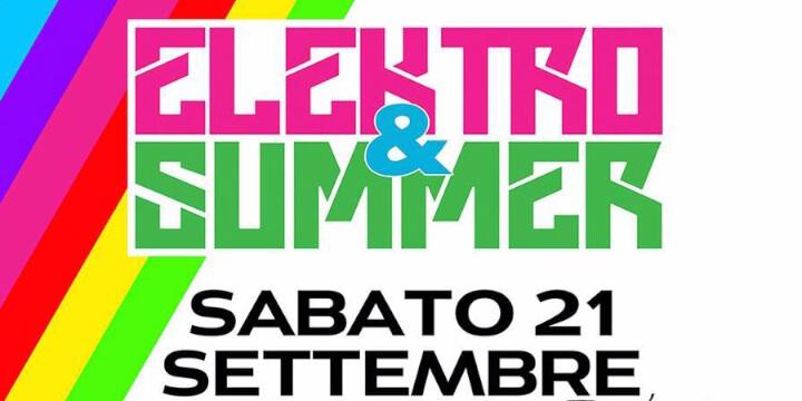 Elektro&Summer Festival 2019