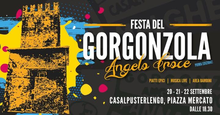 Festa del Gorgonzola Angelo Croce