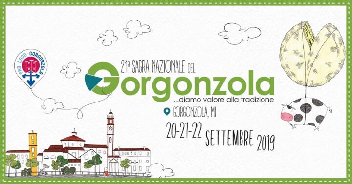 Sagra del Gorgonzola 2019 Eventi, serate..robe