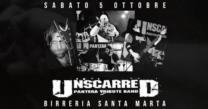 Unscarred Pantera Tribute Band