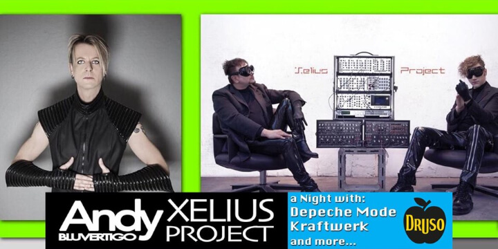 Andy Bluvertigo - Depeche Mode & Kraftwerk Night at Druso