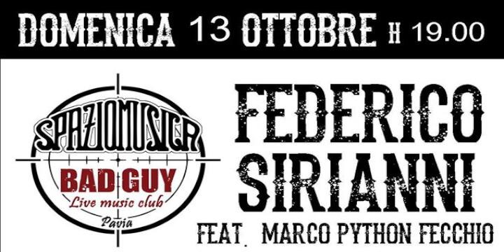 Federico Sirianni feat Marco Python Fecchio