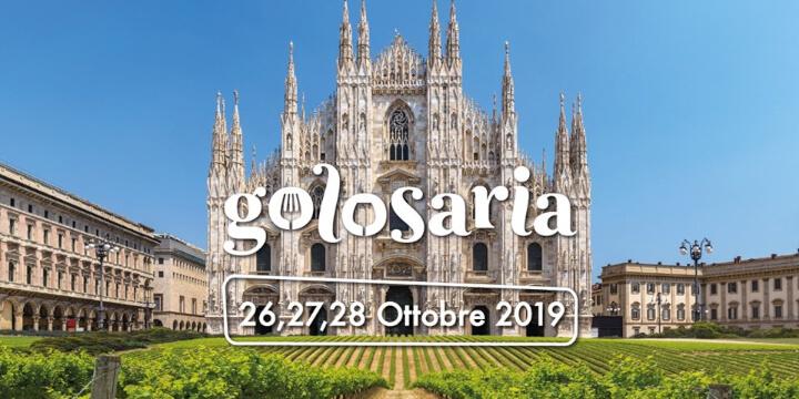 Golosaria Milano 2019 Eventi, serate..robe