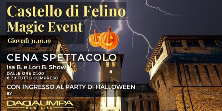 Halloween Party al Castello di Felino