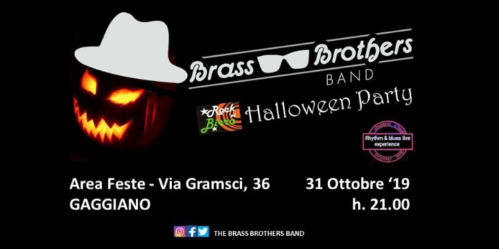 Halloween Party w/ The Brass Brothers Band