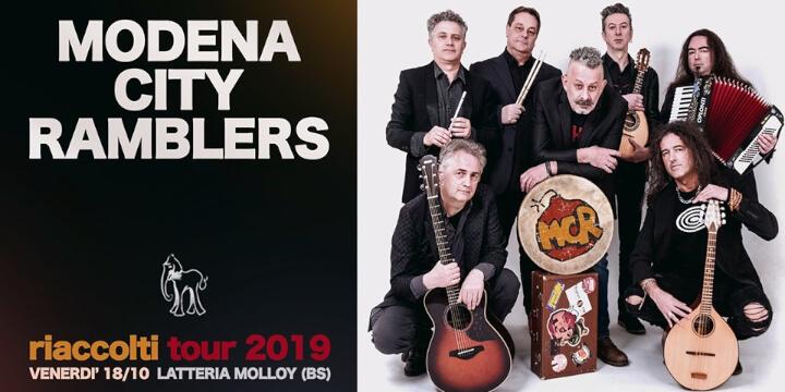 Modena City Ramblers at Latteria Molloy