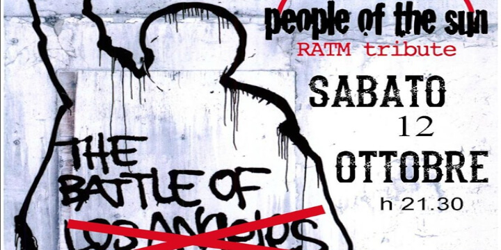 People of the sun - Rage against the machine tribute