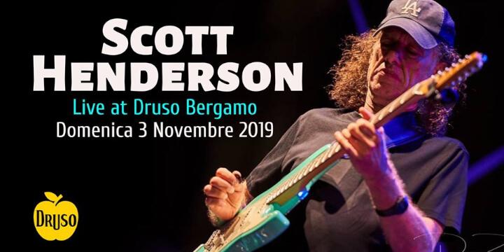 Scott Henderson Trio at Druso