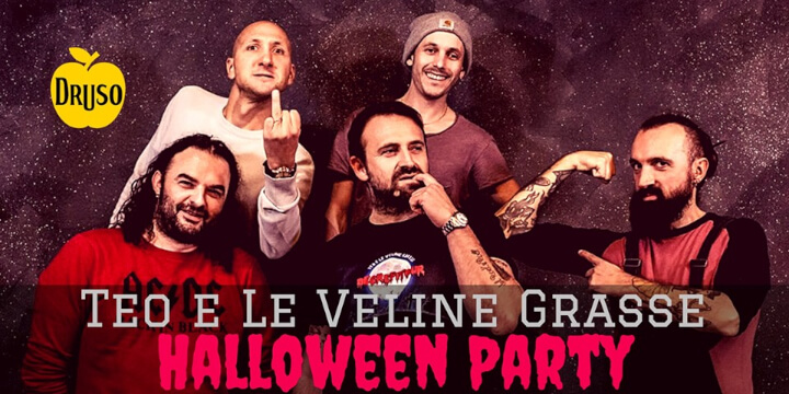 Teo e le Veline Grasse - Halloween Party