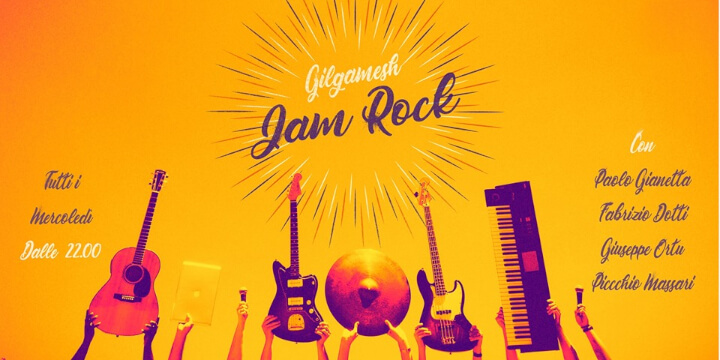The ROCK JAM Gilgamesh Live Music Eventi, serate..robe