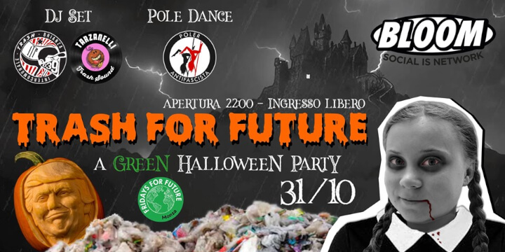 Trash For Future - A Green Halloween Party