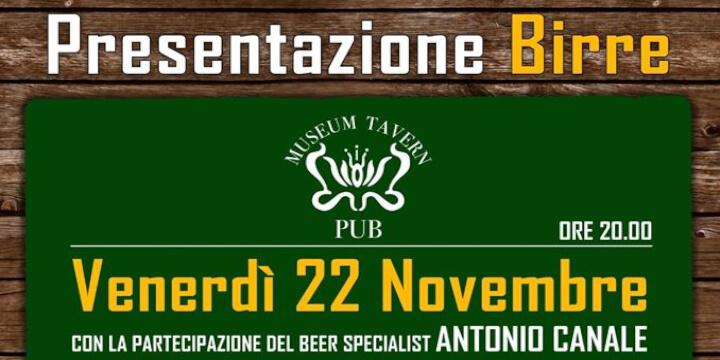 Beer e Food, Inaugurazione Nuove Birre