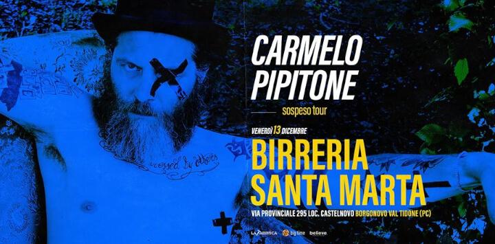 Carmelo Pipitone Sospeso Tour Eventi, serate..robe