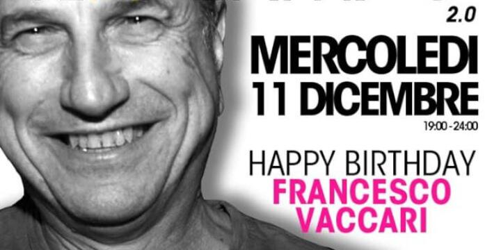 Haperitivo 2.0: Happy Birthday Francesco Vaccari
