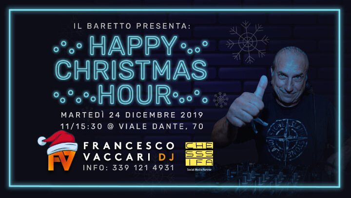Happy Christmas Hour w/ Francesco Vaccari dj