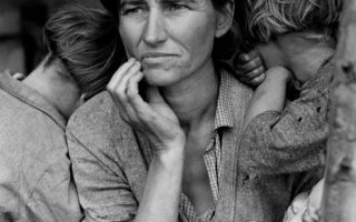 Margaret Bourke-White Dorothea Lange. Ricevere l'avvenimento