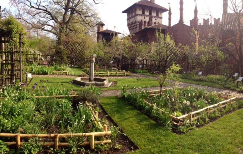 giardino medievale torino