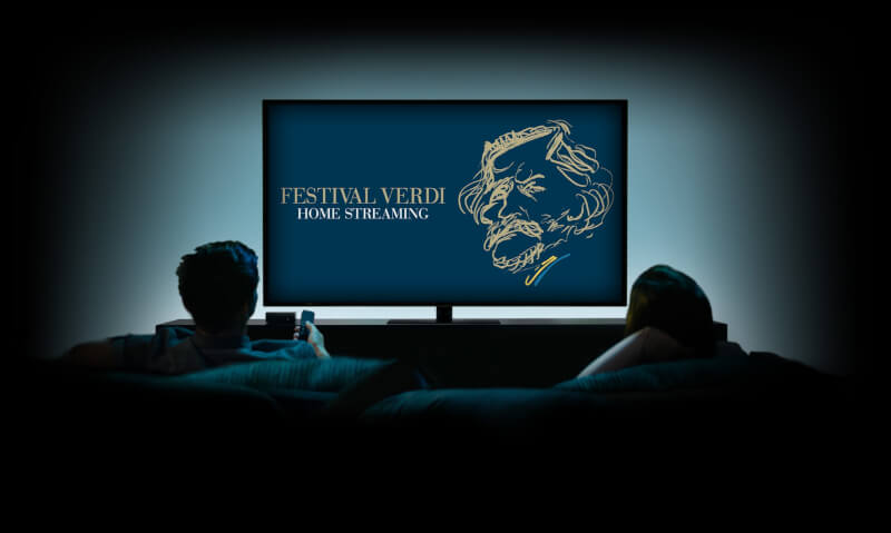 "Festival Verdi home streaming *Concerti in streaming dall'Orchestra ""Verdi"""