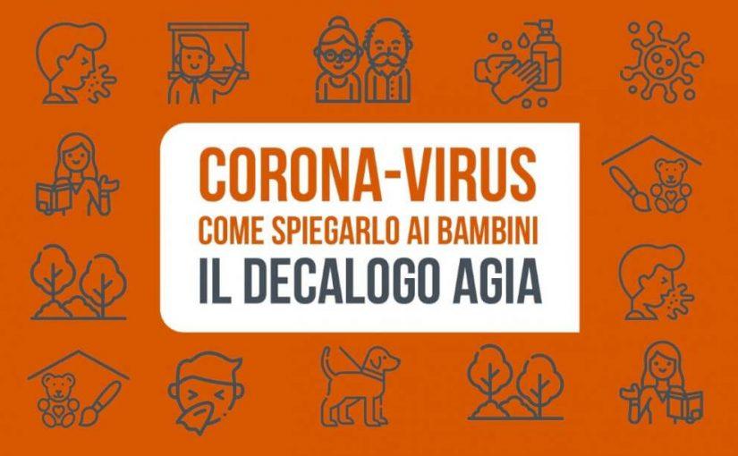 copertina coronavirus decalogo 825x510 Corona-virus.Come spiegarlo ai bambini