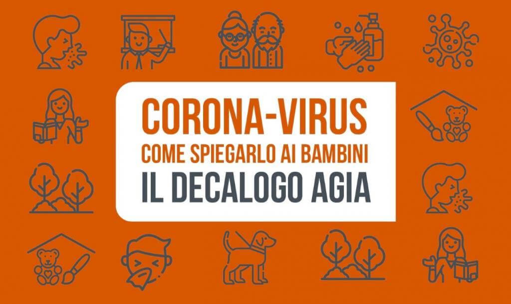 copertina coronavirus decalogo Eventi, serate..robe