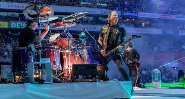 #MetallicaMondays, ogni Lunedì sera un concerto dei Metallica!