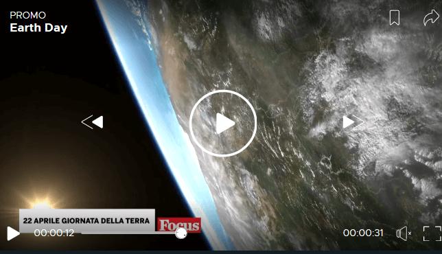 Screenshot 2020 04 21 50° Earth Day la Giornata della Terra su Focus mercoledì 22 aprile Focus21 Eventi, serate..robe