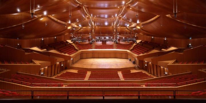 Auditorium Parco della Musica Roma Barbero Time