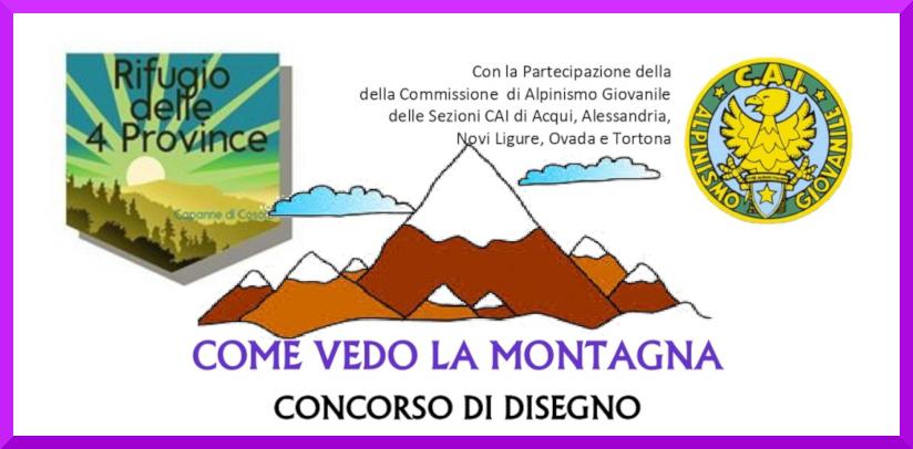 Concorso Come Vedo La Montagna page 0001 1 Eventi, serate..robe