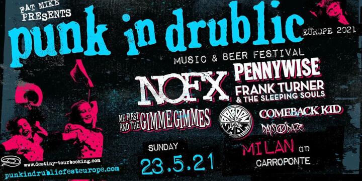 Punk In Drublic a Carroponte 23 Maggio 2021 CarroPonte