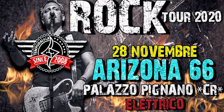 Tempodaliga ROCK TOUR 2020@Arizona 66